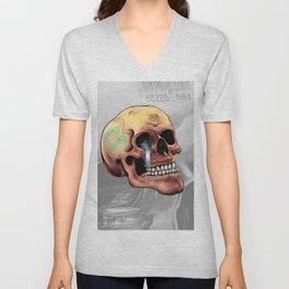 Zia Skull Unisex V-Neck
