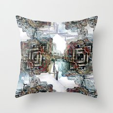 Saturday 30 March 2013: as useful as ducking puddles or jumping over rain. Throw Pillow