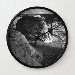 Canyon de Chelly (1941) Ansel Adams Photography Wall Clock