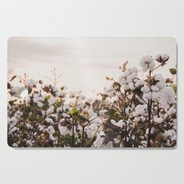 Cotton Field 6 Cutting Board
