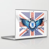chelsea Laptop & iPad Skins featuring Chelsea FC by Future Illustrations- Artwork by Julie C