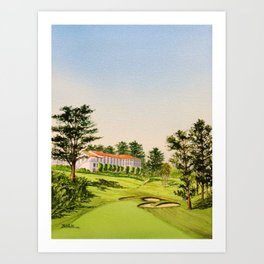 The Olympic Golf Course 18th Hole Art Print