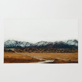The Plains and Mountains (Color) Rug