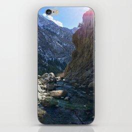 Wasatch Waterfall iPhone Skin