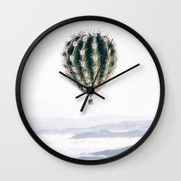 Flying Cactus Wall Clock