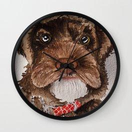 Fluffy Doggo Wall Clock