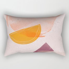 Picnic Leftovers | Shape and Texture Study | Rectangular Pillow