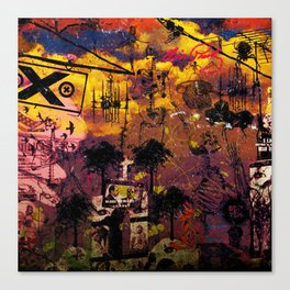 DEAD OR ALIVE by ZZGLAM Canvas Print