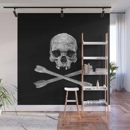 Jolly Roger Skull Wall Mural