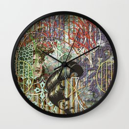 The Set Relationship Between: (A.) An Invisible Woman and (B.) The Ghost Club (1) Wall Clock