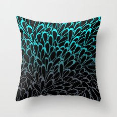 Ocean Drops Throw Pillow