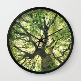 Under Your Skin Wall Clock