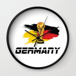 World cup germany Wall Clock