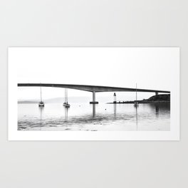 Isle of Skye Bridge Art Print