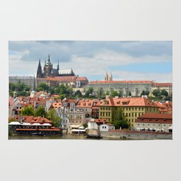 Prague on the Vltava Rug