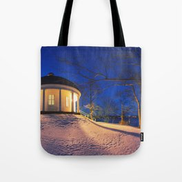 Music Room in Twilight Tote Bag