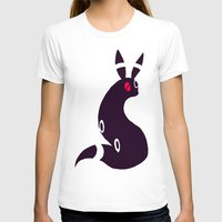 umbreon T-shirts featuring Umbreon-like cat rabbit by Criminal Crow