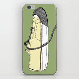 Sneaker in profile iPhone Skin