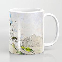 Sacré-Cœur de Montmartre, Basilica of the sacred Heart, Paris Coffee Mug