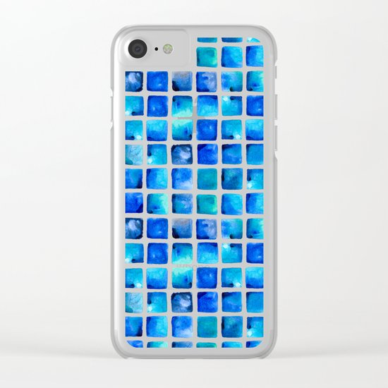 Deep Sea Clear iPhone Case