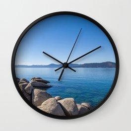 Tahoe Blue Wall Clock