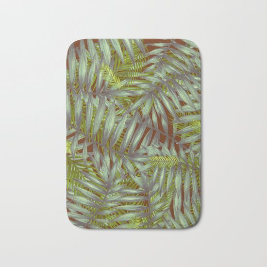 Leaves #1 Bath Mat