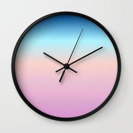 UNDER THE SKY Wall Clock