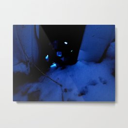Ghost Found Metal Print
