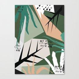Abstract /Botanical Canvas Print
