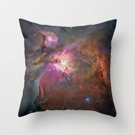 Orion Nebula M42, NGC 19 (High Quality) Throw Pillow