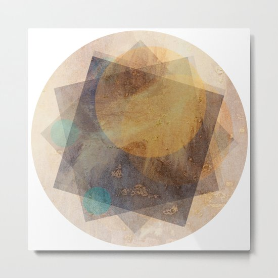 It's Just  A Phase Metal Print
