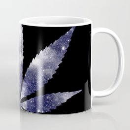 Weed : High Times dark blue Galaxy Coffee Mug