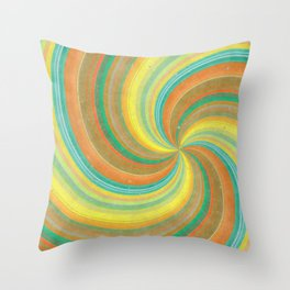 Sweet Retro Candy Throw Pillow