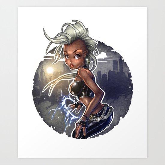 Wind Rider Art Print
