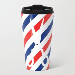 Barber Scissors Travel Mug