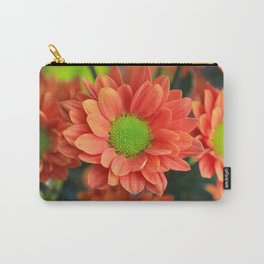Sunflower Orange Carry-All Pouch