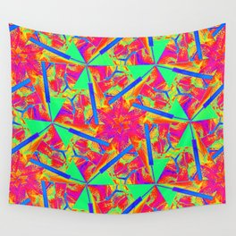 The flower Wall Tapestry