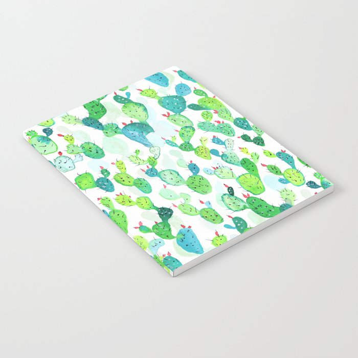 Watercolour Cacti Notebook