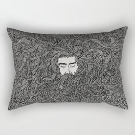 Lads' Hair Rectangular Pillow