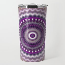 Mandala for Winter Mood Travel Mug