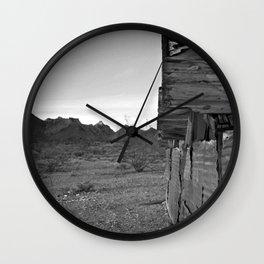 I am a dry man Wall Clock