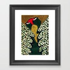 my feather Framed Art Print