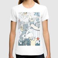 milk T-shirts featuring Milk by Anna Savva