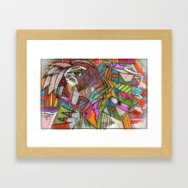 "WIIP™,""Something...A Bit!"" (2015) Framed Art Print"