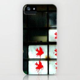 My dear Window pane... iPhone Case