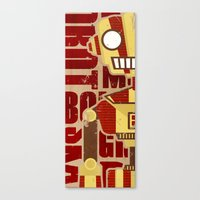 robot Canvas Prints featuring Robot by LindseyCowley