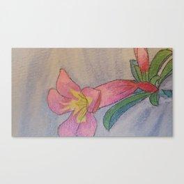 Trumpet Flower Canvas Print