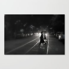 Streets of Kolkata Canvas Print