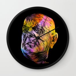 Rainbow Sibelius Wall Clock