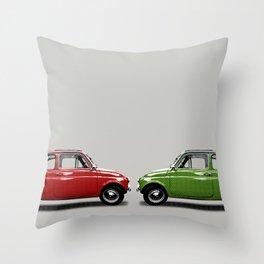 Fiat500 Throw Pillow